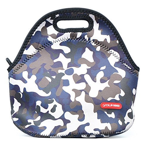 Insulated Thermal Lunch Bag - Camouflage