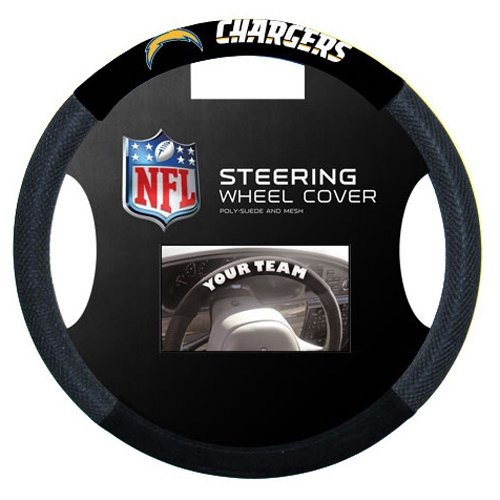 San Diego Chargers Steering Wheel Cover from NEOPlex ()