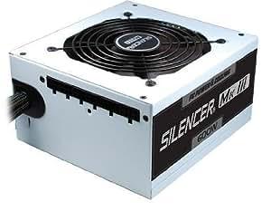 OCZ Technology Silencer Mk III 600W - Fuente de alimentación (600W, 90 - 220V, 50 - 60 Hz, 12 cm, Superior, Activo) Color blanco