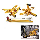 cbr 100rr Rearsets Rear Sets Foot Rest Footpeg Adjustable for Honda CBR1000RR 2004-2007, CBR600RR 2003-2006