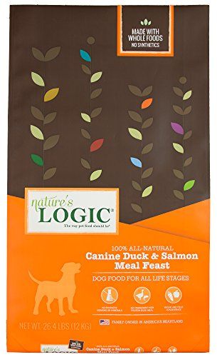 NATURE'S LOGIC Canine Duck & Salmon Meal Feast, 26.4lb Review
