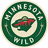 "Minnesota Wild NHL Hockey Car Bumper Sticker Decal 5"" x 5"""