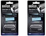 Braun Series 3 Cassette - BRAUN 32S Series 3 Shaver Foil and Cutter Head Replacement Cassette, 2 Count