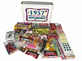 1957 Retro Nostalgic Candy Decade 60th Birthday Gift Box – 60 Years Old – 50s Jr