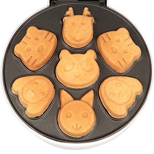 Animal Makes 7 Shaped Pancakes Non-stick Waffler
