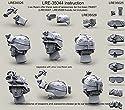 ライブ樹脂1: 35US Army PASGTヘルメットWカバー& NVG PVS 7/ 14/ 15ゴーグル# lre35044