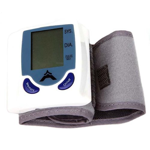 FDL Digital Blood Pressure Monitor Wrist Cuff
