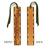 Best Mitercraft Hikes In Usas - Engraved Wooden Bookmark – Evergreen Hiker with Green Review