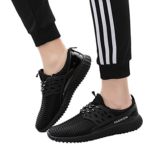 773 Casual Athletic No Shoes Men Couple Breathable Sports Sneakers Women Fashion Black Unisex Cx6aUq
