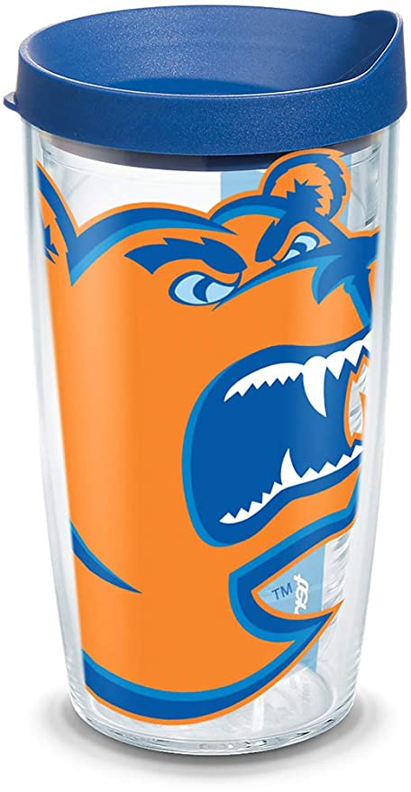 d01dd39723159 Tervis 1094338 USCGA Bears Mascot Colossal Tumbler with Wrap and Blue Lid  16oz