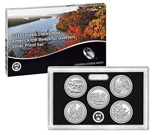 2017 S United States Mint America the Beautiful Quarters Silver Proof Set US Mint (United States Mint Quarters)
