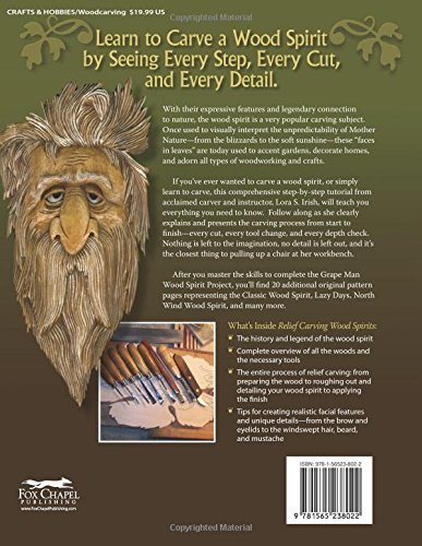 Relief carving wood spirits a step by step guide for releasing