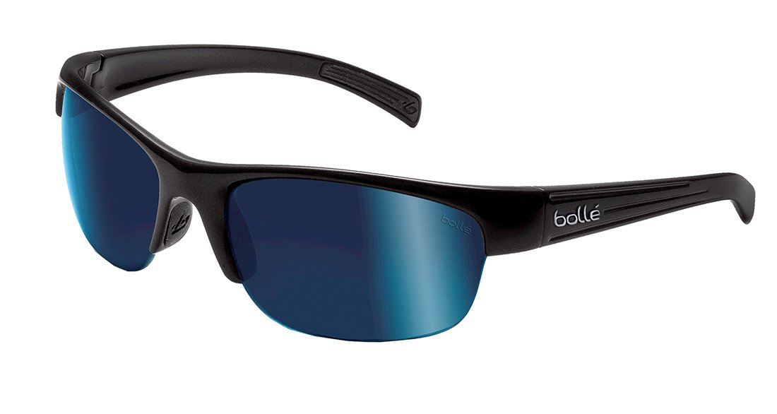 7e5dc6be03 Bolle Sunglasses Chase 11360 Black Offshore Blue Polarized  Amazon.ca   Sports   Outdoors