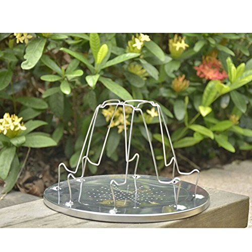 Ireav Outdoor Equipment Camping Folding Camp Stove Bread Toaster Tray Rack Cooking Camping Breakfast by Ireav (Image #3)