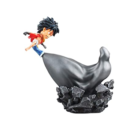 Amazon Com Siyushop One Piece Monkey D Luffy Pvc Figure