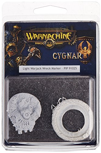 Privateer Press - Warmachine - Cygnar: Light Warjack Wreck Marker Model Kit 4