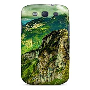 Ideal Mialisabblake Case Cover For Galaxy S3(majestic Mountain Peaks), Protective Stylish Case