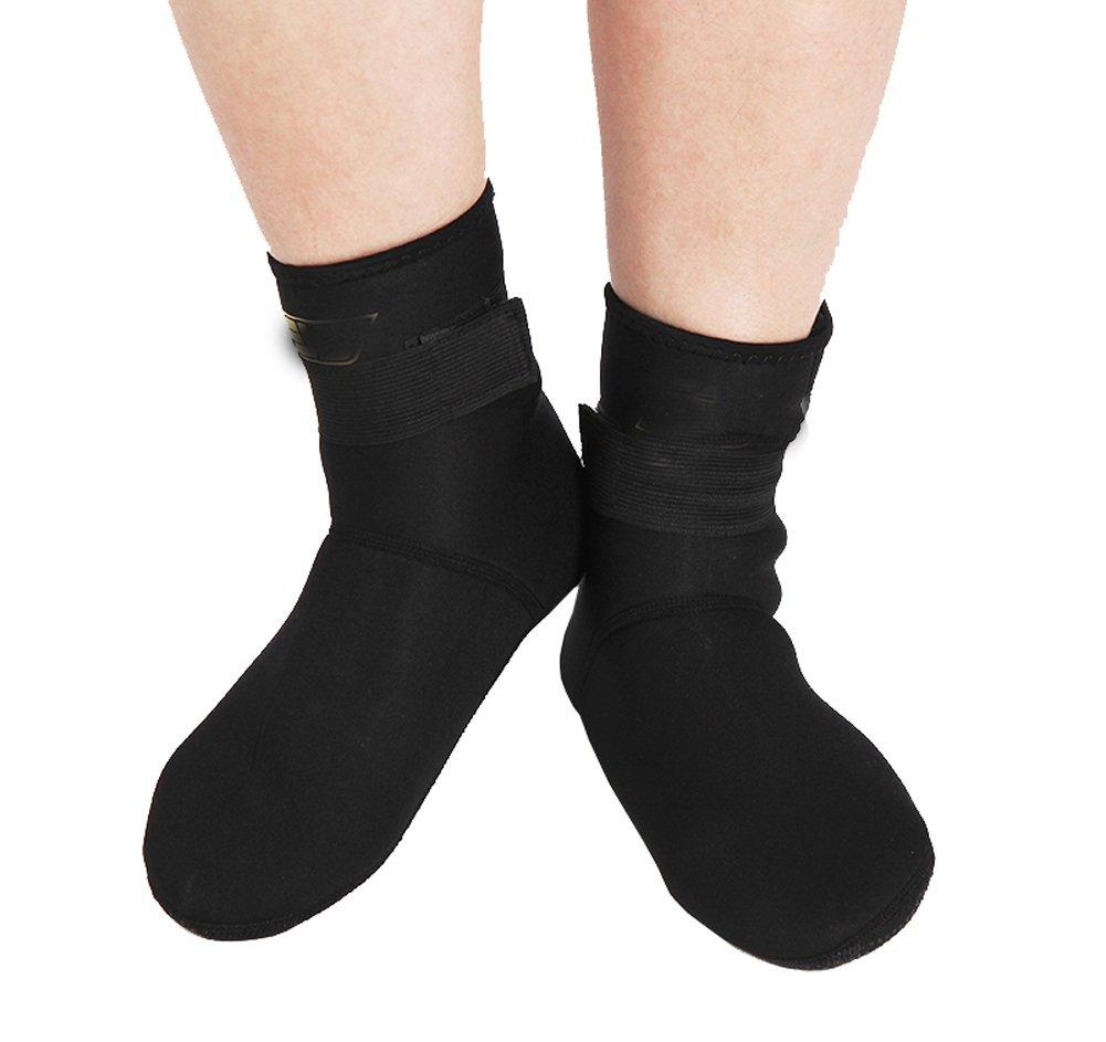 DRAGON SONIC Socks for Beach,Snorkeling,Swimming & All Water Sports(Black)