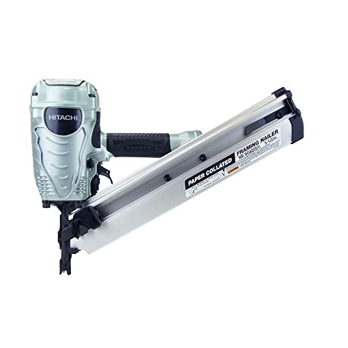 Hitachi NR90ADS1 Hitachi NR90ADS1 3-1 2 in. Paper Collated Framing Nailer Renewed