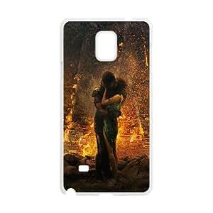 Pompeii Movie Samsung Galaxy Note 4 Cell Phone Case White toy pxf005_5851009