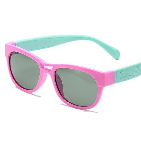 Gafas de seguridad Gafas de sol polarizadas flexibles para niños y niñas con protección UV para