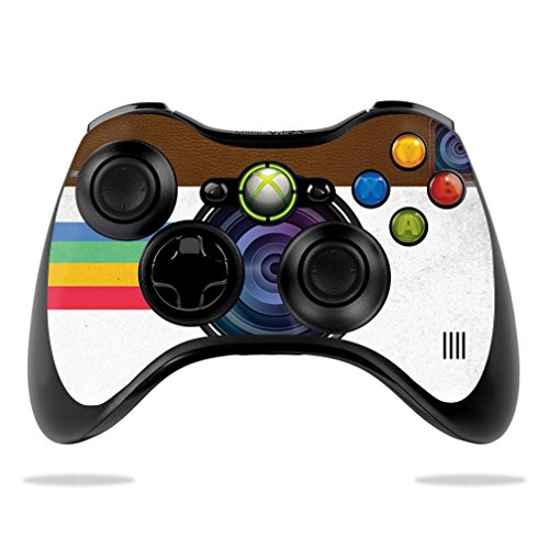 - MightySkins Skin for Microsoft Xbox 360 Controller - Vintage Polaroid | Protective, Durable, and Unique Vinyl Decal wrap Cover | Easy to Apply, Remove, and Change Styles | Made in The USA