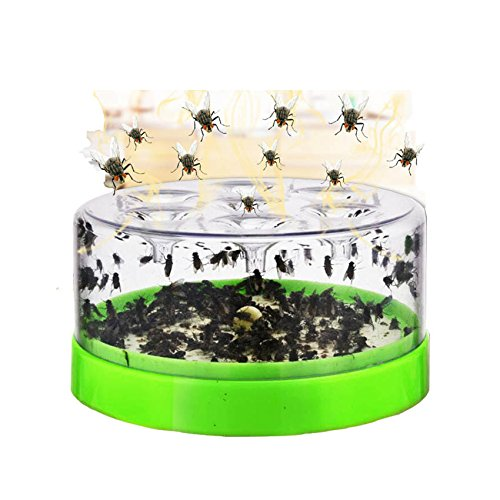 GRH Effective Flytrap Pest Catcher Killer for Hotel Restaurant Home Indoor Automatic Artifact Caught Fly Killer Fly Traps