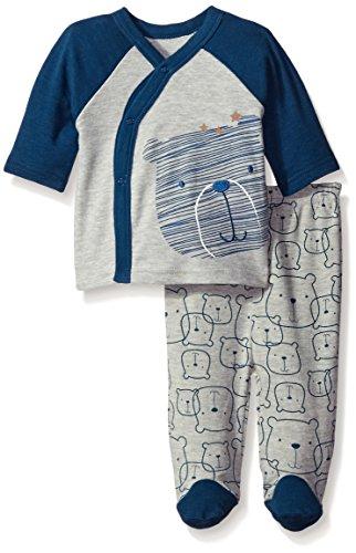 Rene Rofe Baby Boys Little Bear 2 Piece Cardigan With Pant Set