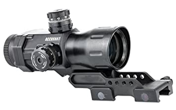 Leapers Compact UTG Prismatic 4X32 T4 Scope, 36-Color, M-DOT: Amazon
