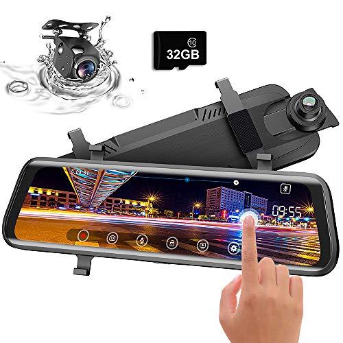 Moucit Dual Dash Cam, Dash Cam for Car, 10
