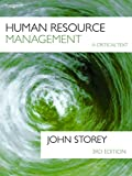 Human Resource Management: A Critical Text
