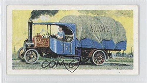 Steam Wagon (Steam Wagon COMC REVIEWED Good to VG-EX (Trading Card) 1966 Brooke Bond Transportation Through the Ages - [Base] #17)