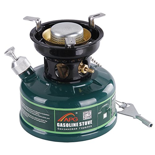 - APG Compact Gasoline Stove Outdoor Camping Cooking System Silent Technology Oil Burners