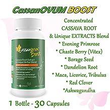CassanOVUM Boost - Cassava Fertility Supplement - to boost fertility and to support healthy ovarian functions