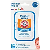 Munchkin 72 Pack Arm and Hammer Pacifier Wipes, White