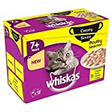 Whiskas 7+ Cat Pouch Creamy Soup Poultry 12 per pack For Sale