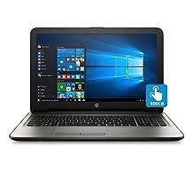 HP 15.6-Inch HD Touchscreen High Performance Laptop, Intel Core i5-7200U 2.5GHz, 12GB DDR4 RAM, 1TB HDD, DVD, HDMI Intel HD Graphics 620, WIFI Webcam, Windows 10, Silver