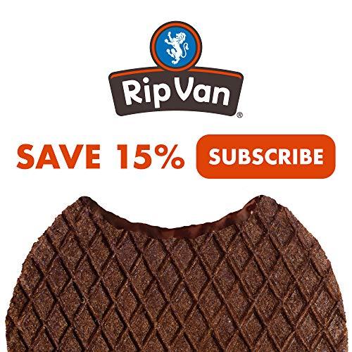 Rip Van Wafels Chocolate Brownie Stroopwafels - Healthy Snacks - Non GMO Snack - Keto Friendly - Office Snacks - Low Sugar (3g) - Low Calorie Snack - 12 Pack 8
