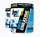 Cheap BPI Sports Best Creatine Defined Lean Muscle Hardening Agent, 40 Servings Each (2 Pack) (Blue Crush)