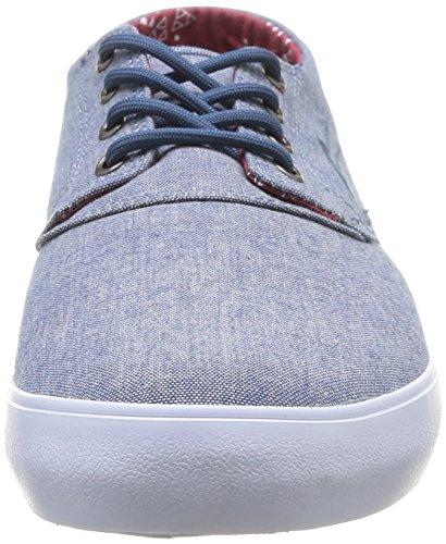 Lakai Heren Camby Mid-skate Schoenen Stonewash Textiel