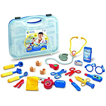 Learning Resources Pretend & Play Doctor Set, 19 Pieces, Blue