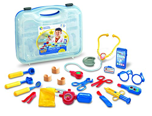 Top Toys for 5 Year Old Boys -  Learning Resources Pretend & Play Doctor Kit for Kids