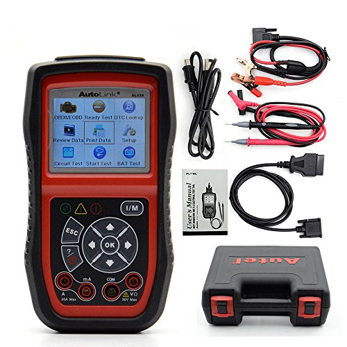 Autel AutoLink AL539B OBDII Code Reader & Electrical Test To