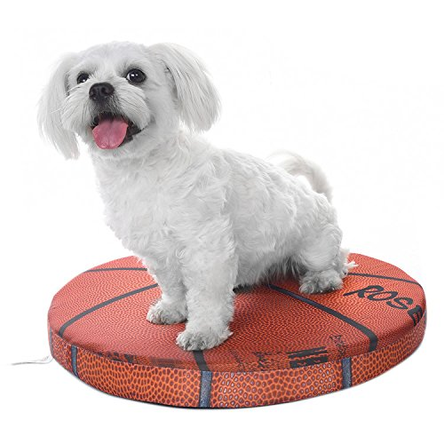 Zaote Brand New Pet Mat Basketball Shaped Pet Summer Cooling Mat 48 x 48 x 5cm
