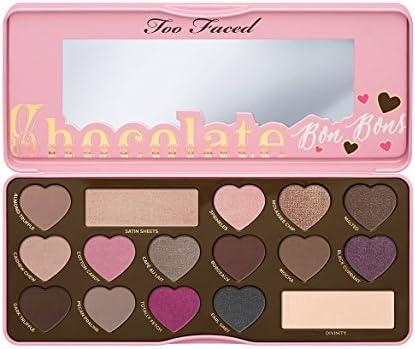 Too Faced- Estuche de regalo paleta de sombras chocolate bon bons: Amazon.es: Belleza