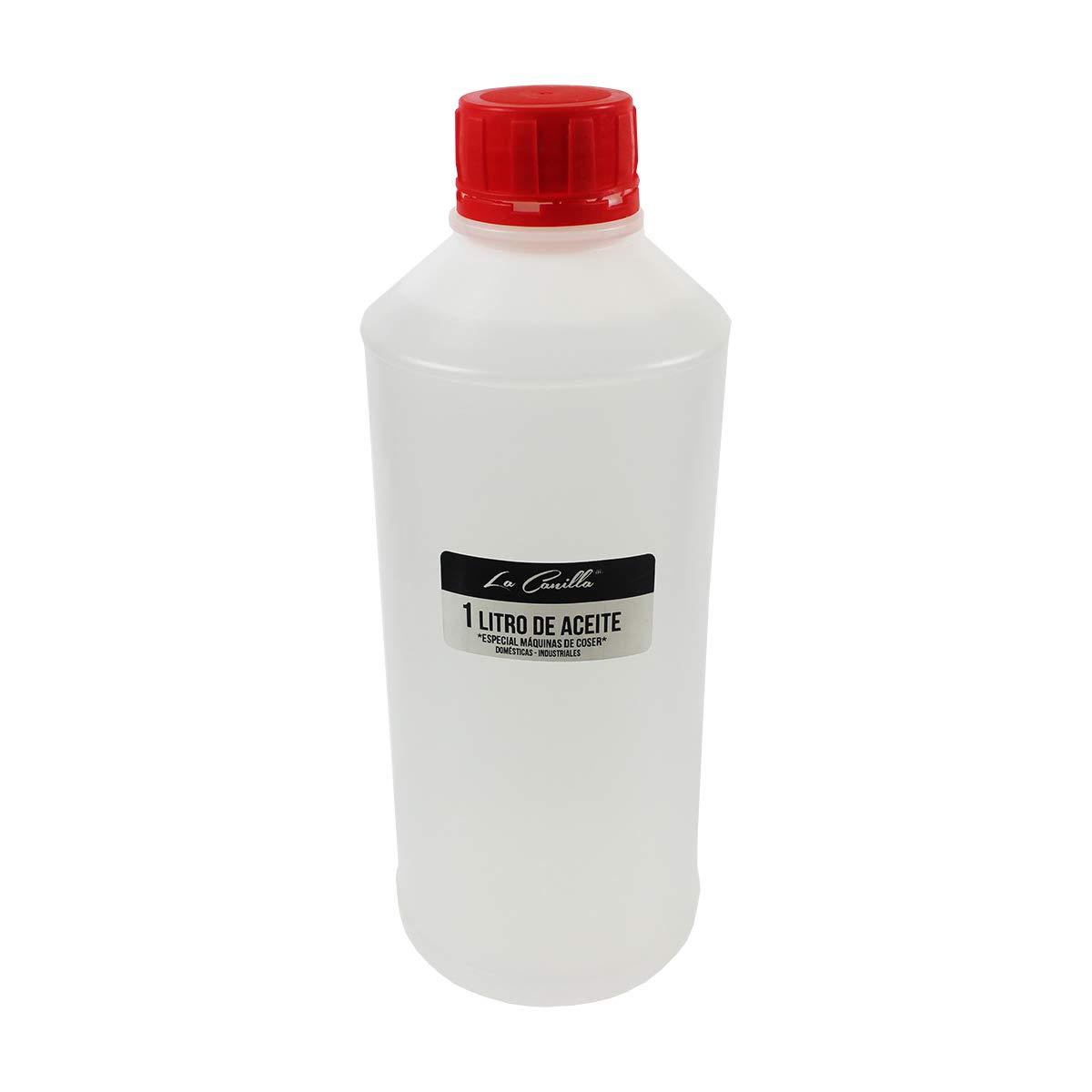 La Canilla ® - 1 Litro de Aceite para Máquinas de Coser B: Amazon.es: Hogar