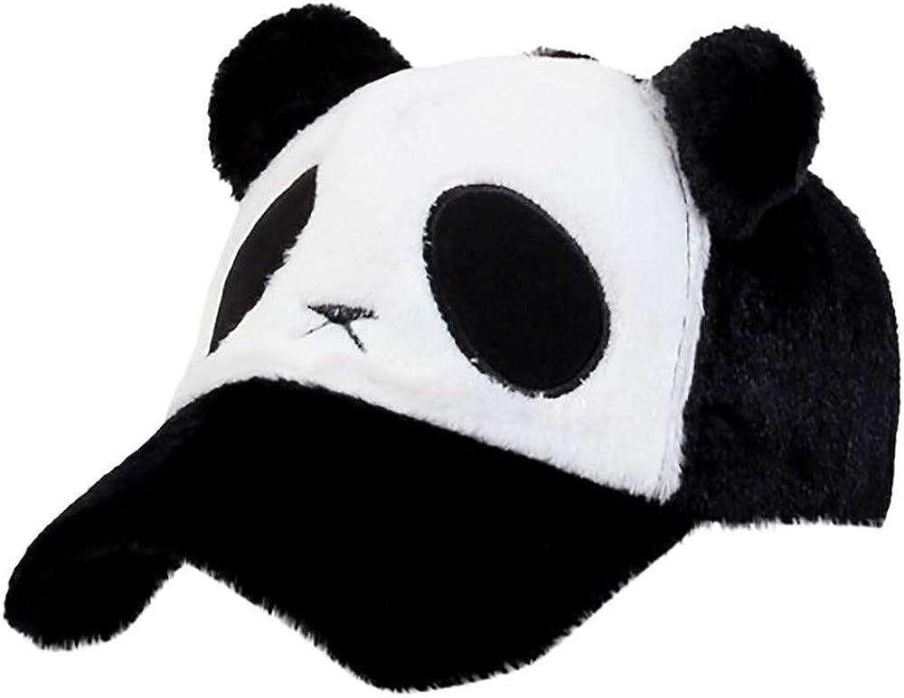 LUGOW Baseball Caps Damen Panda Sonnenh/üte Hut Baumwolle Sonnenhut Einstellbar M/ützen Snapback H/üte Classic Sonnenblende Visoren Fischerh/üte
