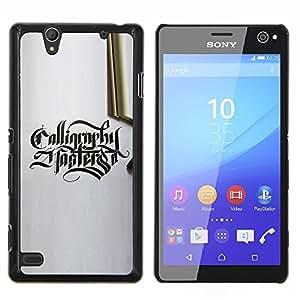EJOOY---Cubierta de la caja de protección para la piel dura ** Sony Xperia C4 ** --Catador
