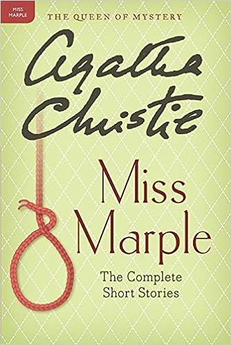 Miss Marple The Complete Short Stories Miss Marple Mysteries