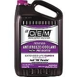 OEM 86-324POEMVW Premium Antifreeze 50/50 Extended Life-Euro II Pink, 128. Fluid_Ounces